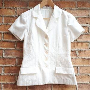 Handmade Short Sleeve Blazer
